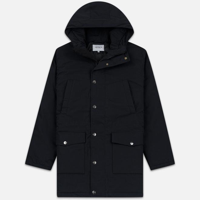 Мужская куртка парка Carhartt WIP Tropper 5.7 Oz Black