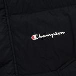 Мужская куртка парка Champion Reverse Weave Padded Longline Hooded Popper Black фото- 4