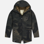 Мужская куртка парка Dupe Storm Hooded 3L Graffiti Brown/Ultras Dupe Print фото- 0