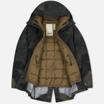 Мужская куртка парка Dupe Storm Hooded 3L Graffiti Brown/Ultras Dupe Print фото- 1