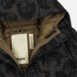 Мужская куртка парка Dupe Storm Hooded 3L Milo Walsh Brown/Old D Print фото- 1