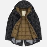 Мужская куртка парка Dupe Storm Hooded 3L Milo Walsh Olive/Dirt Cross Print фото- 1