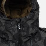 Мужская куртка парка Dupe Storm Hooded 3L Milo Walsh Olive/Dirt Cross Print фото- 4