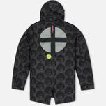Мужская куртка парка Dupe Storm Hooded 3L Milo Walsh Olive/Dirt Cross Print фото- 3