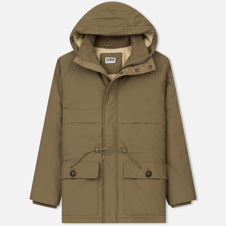 Мужская куртка парка Edwin Expedition Khaki