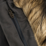 Мужская куртка парка Fjallraven Barents Dark Grey фото- 8