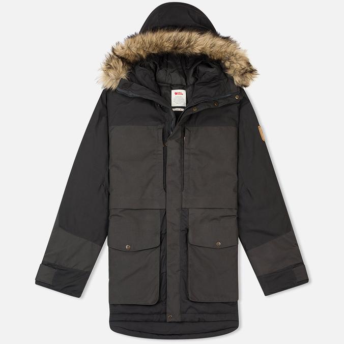 Мужская куртка парка Fjallraven Barents Dark Grey