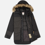 Мужская куртка парка Fjallraven Barents Dark Grey фото- 1