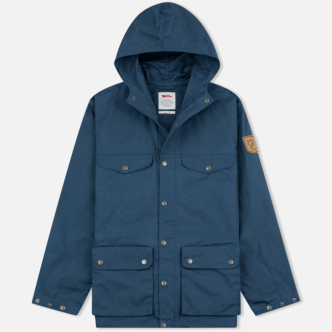 Мужская куртка парка Fjallraven Greenland Uncle Blue