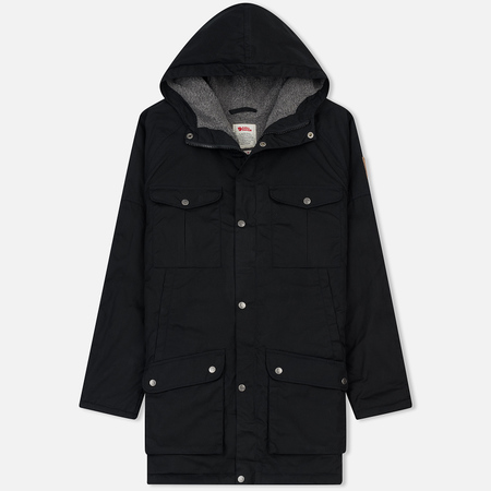 Мужская куртка парка Fjallraven Greenland Winter Black/Grey