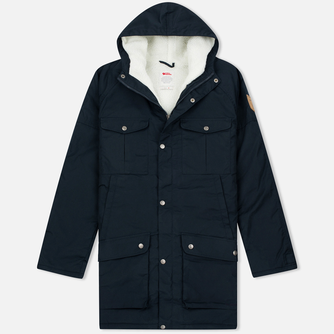 Мужская куртка парка Fjallraven Greenland Winter Dark Navy