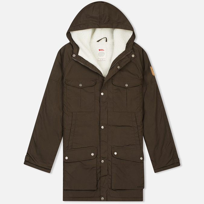 Мужская куртка парка Fjallraven Greenland Winter Dark Olive
