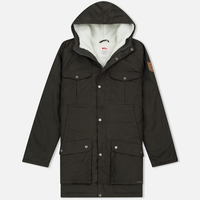 Мужская куртка парка Fjallraven Greenland Winter Mountain Grey