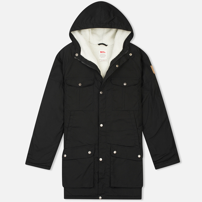 Мужская куртка парка Fjallraven Greenland Winter Black