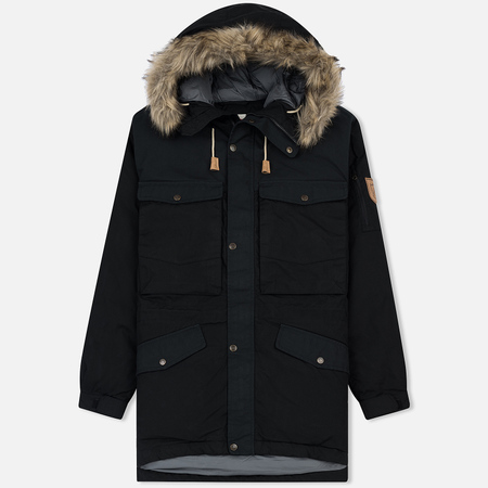 Мужская куртка парка Fjallraven Singi Down Black