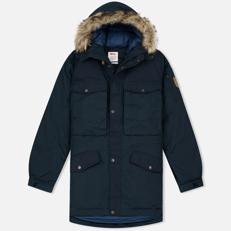 Fjallraven Singi Down Men's Parka Dark Navy