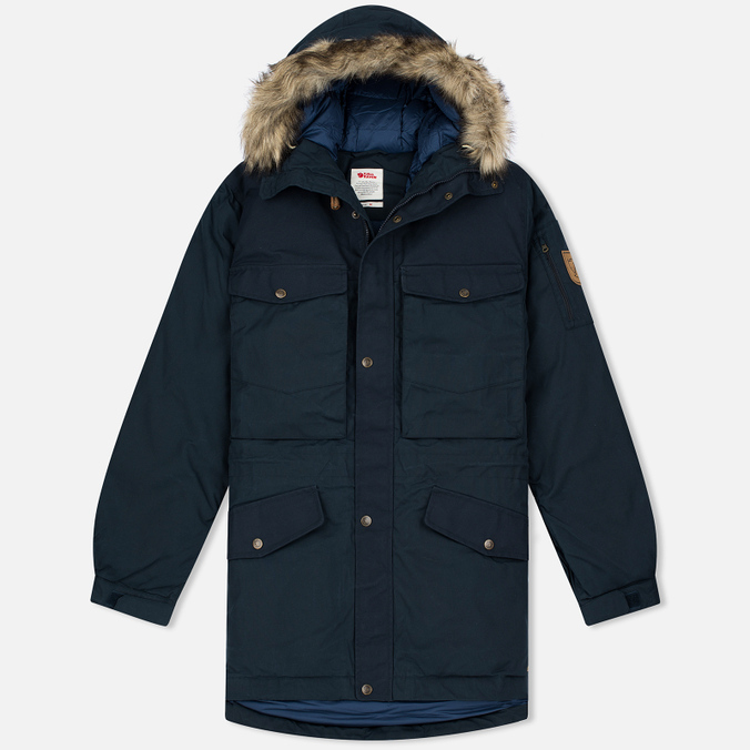 Мужская куртка парка Fjallraven Singi Down Dark Navy