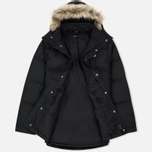 Мужская куртка парка Fred Perry Down Fur Trim Black фото- 2