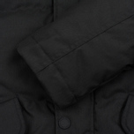 Мужская куртка парка Fred Perry Down Fur Trim Black фото- 3