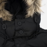 Мужская куртка парка Fred Perry Down Fur Trim Black фото- 6