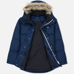 Мужская куртка парка Fred Perry Down Fur Trim Medieval Blue фото- 2