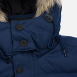 Мужская куртка парка Fred Perry Down Fur Trim Medieval Blue фото- 6