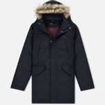Fred Perry Long Length Winter Men's Parka Navy photo- 0
