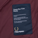 Fred Perry Long Length Winter Men's Parka Navy photo- 5