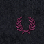 Мужская куртка парка Fred Perry Long Length Winter Navy фото- 7