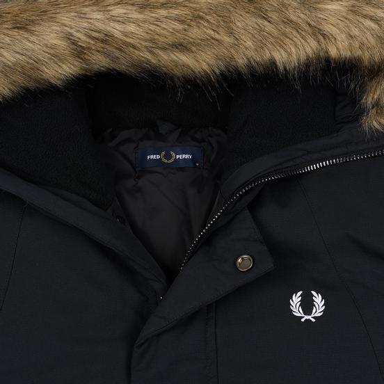 Мужская куртка парка Fred Perry Padded Snorkel Black