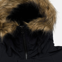 Мужская куртка парка Fred Perry Padded Snorkel Black фото- 3