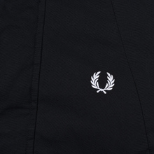 Мужская куртка парка Fred Perry Padded Snorkel Black фото- 4