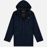 Fred Perry Portwood Men's Parka Bright Navy photo- 0