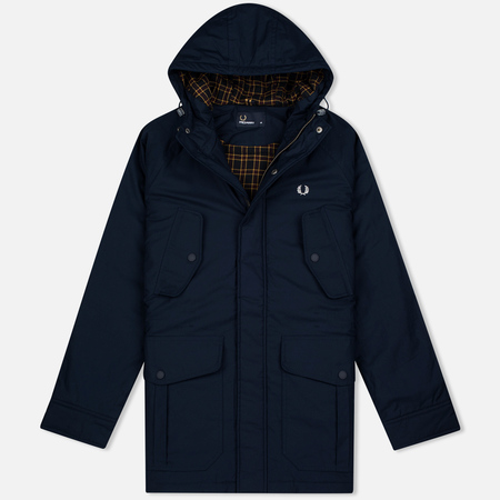 Fred Perry Portwood Men's Parka Bright Navy