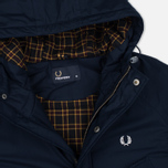 Fred Perry Portwood Men's Parka Bright Navy photo- 2
