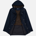 Fred Perry Portwood Men's Parka Bright Navy photo- 1