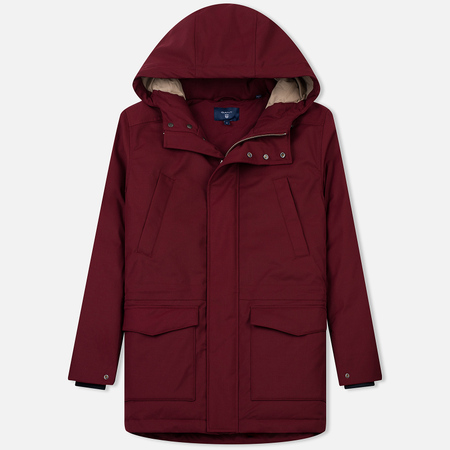 Мужская куртка парка Gant The Down Parka Winter Wine