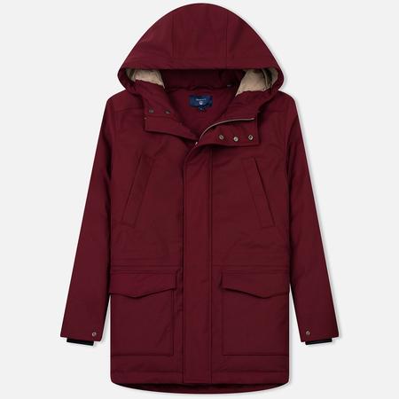 Мужская куртка парка Gant The Down Parka Winter Wine