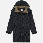 Мужская куртка парка Garbstore Deck Coat Indigo Dot фото- 0