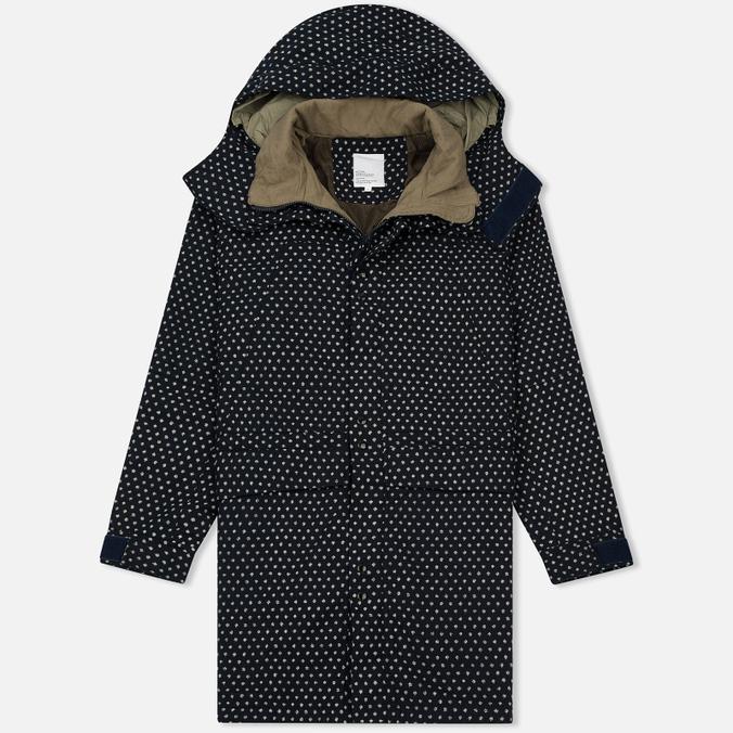Мужская куртка парка Garbstore Deck Coat Indigo Dot
