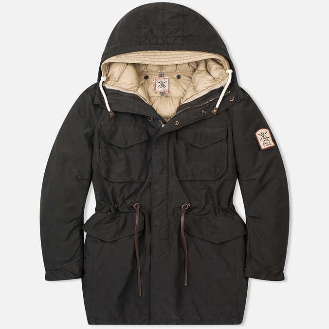 Мужская куртка парка Grunge John Orchestra. Explosion 9P22 Black