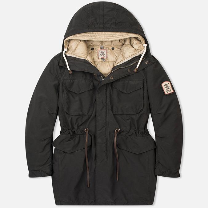 Мужская куртка парка GJO.E 9P22 Black