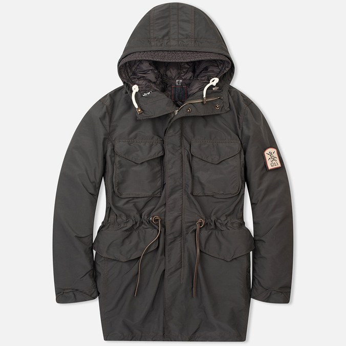 Мужская куртка парка GJO.E 9P22 Grey