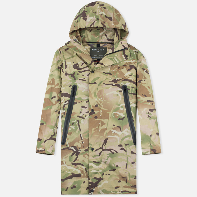 Мужская куртка парка Griffin Fishtail 2 Layer British Camo
