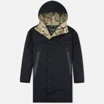 Мужская куртка парка Griffin Fishtail Majocchi Black фото- 0