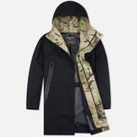 Мужская куртка парка Griffin Fishtail Majocchi Black фото- 1