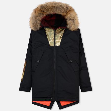 Мужская куртка парка Griffin Loveland Fishtail Black