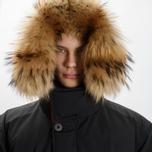 Мужская куртка парка Griffin Sleeping Bag Coat Black фото- 7