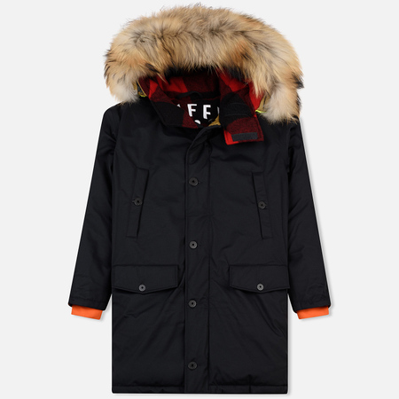 Мужская куртка парка Griffin Sleeping Bag Coat Black