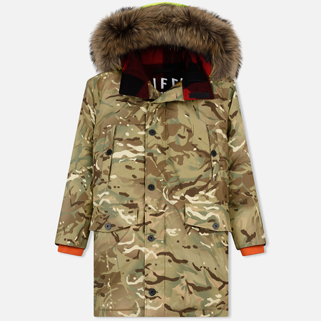 Мужская куртка парка Griffin Sleeping Bag Coat Camouflage